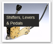 Shifters, Levers and Pedals
